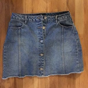 Missguided Denim Skirt
